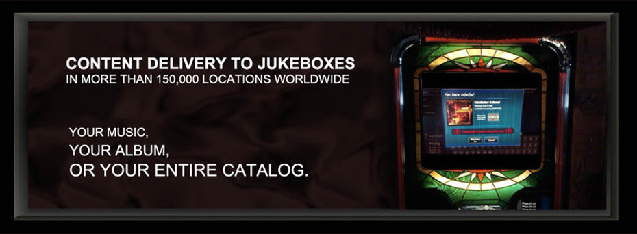 Deliver your Tracks to jukeboxes